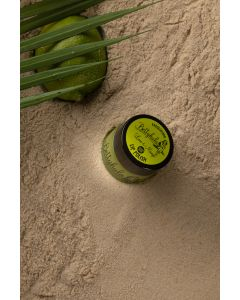 Betty Hula Nourishing lip polish in Lime & Mango