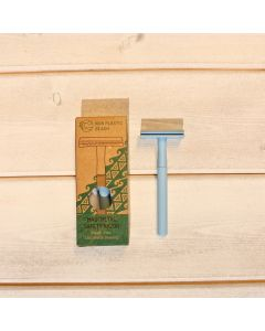 Maui Metal Safety Razor - Blue