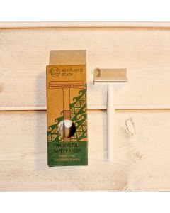 Maui Metal Safety Razor - White