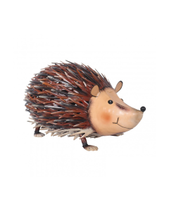 Metal Jolly Hedgehog Ornament
