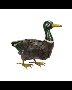Metal Mallard Duck Ornament