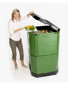 400L Aerobin Hot Composter - Brunswick Green