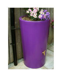 180L Garden Planter Water Butt Purple