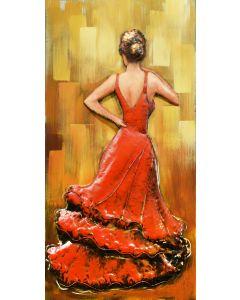 Gypsy Flamenco - Metal Wall Art