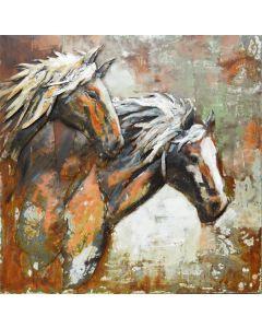 Spirit of the Stallions | Metal Wall Art