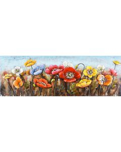 Fields of Colour - Metal Wall Art