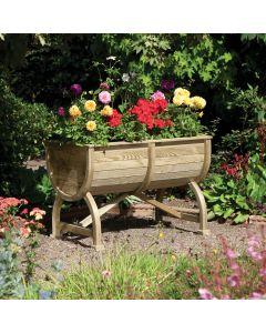 Rowlinson Marberry Barrel Planter