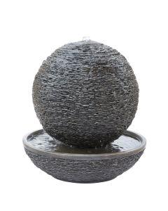 Kelkay Mysterious Moon Water Feature - Slate Grey Stone Effect