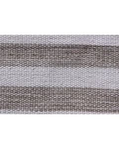 IN-OUT Textiles Recycled 12 Lines Grey Rug - 150cm