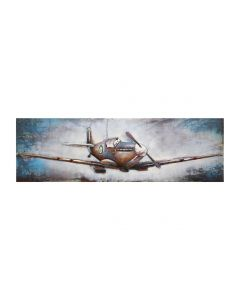Vintage RAF Plane - Metal WAll Art