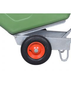 Puncture Proof Wheelbarrow Wheel In Red