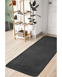 Relay Classic Charcoal Rug -  60 x 200cm