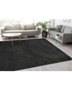 Relay Classic Charcoal Rug -  200 x 290cm