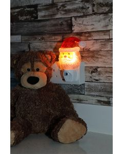 Santa Night Light With Dusk Sensor
