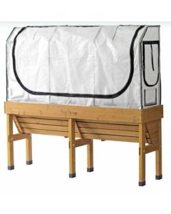 Medium WallHugger Greenhouse Frame & Multi Cover Set