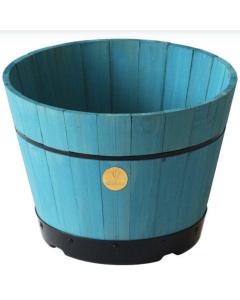 Build A Barrel by VegTrug, Medium 46cm - Powder Blue (FSC 100%)