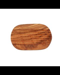 Soap Dish - Olive Wood Ridged