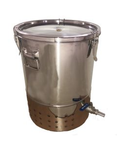 Deluxe Stainless Steel Indoor Wormery Composter