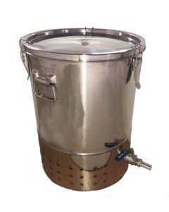 Stainless Steel Indoor Wormery Composter