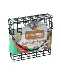 Suet Cake Feeder - Dark Green