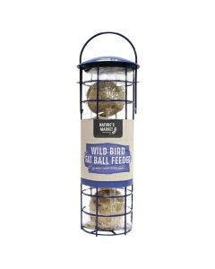 Suet Fat Ball Feeder with 4 Suet Fat Balls