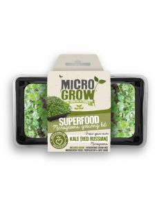 Micro-Grow Kit - Kale (Red Russian)
