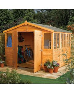Rowlinson 9' x 18' Tongue and Groove Apex Workshop