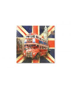 London Calling - Metal Wall Art