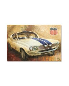 American Muscle Car - Metal Wall Art