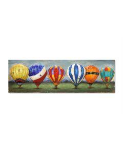 Balloons of Colour - Metal Wall Art
