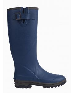Neoprene Wellington Boot - Navy Size 4