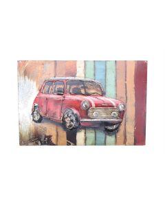 Vintage Mini - Metal Wall Art