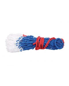 Large Mesh Polypropylene Hay Nets - Red, White & Blue