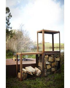 Bunke Linkable Wood Storage