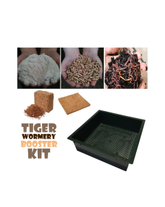 Tiger Wormery Booster Kit (Green)