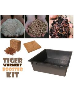 Tiger Wormery Booster Kit (Black)