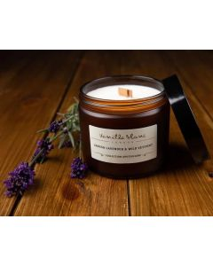 Vanilla Blanc Grosso Lavender & Wild Vetivert Coconut Wax Candle 250ml