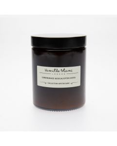 Vanilla Blanc Lemongrass & Eucalyptus Dives Coconut Wax Candle 170ml