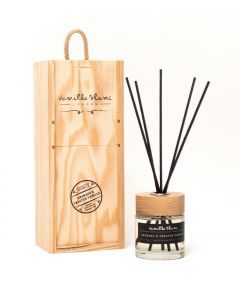 Vanilla Blanc Grenade & Frosted Vanilla (Pomegranate) Natural Reed Diffuser in Gift Box