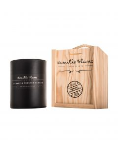 Vanilla Blanc Grenade & Frosted Vanilla Matt Edition Kosher Soy Candle in Gift Box