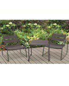 Garden Furniture Set of 3 - Grey
