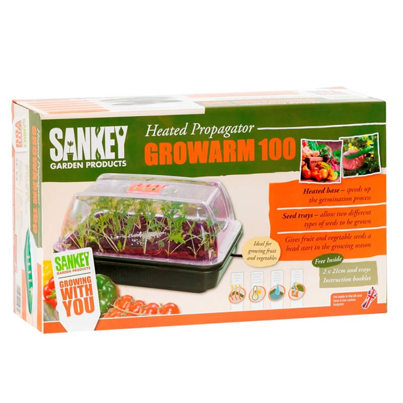 The Sankey Growarm 100 will speed up the sprouting process so that you can give your fruit and veg plants a head start in the growing season. It's a g