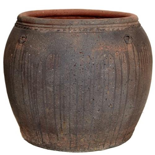 Ironstone Old Bowl Planter