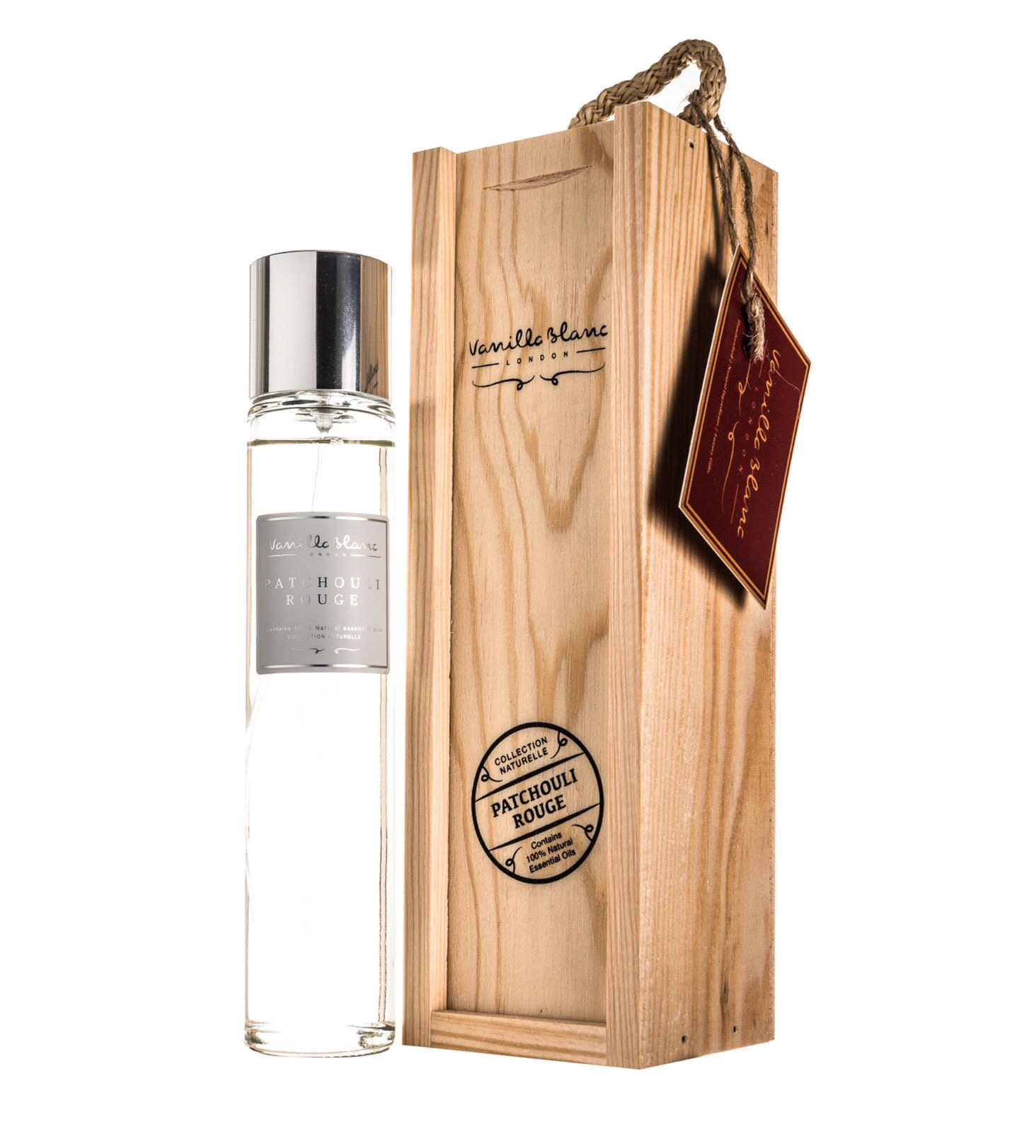 Vanilla Blanc Patchouli Rouge (Red) Purity Room Mist in Gift