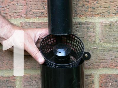 Not just a standard diverter - The Gutter Mate Diverter & Filter Basket