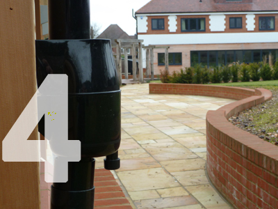 Gutter Mate Diverter & Filter protects your soakaway