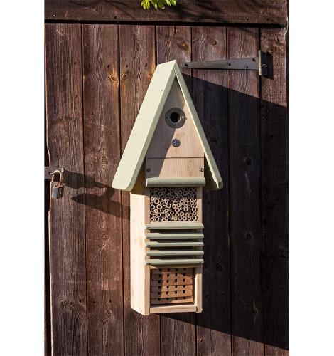 Birds, Bees & Bug Hotel