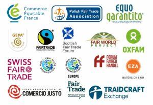 image of fairtrade logos