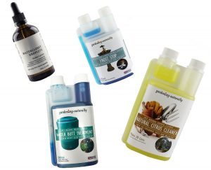 image of natural cleaning products