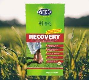 image of grass and organic recovery fertiliser